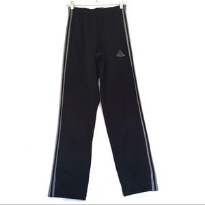 [ADIDAS] Striped Workout Track Pants Size S